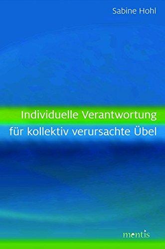 Umschlag Hohl: Individuelle Verantwortung...